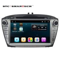 SMARTECH 8 Inch 2Din Android Car Multimedia Car DVD For Hyunda IX35 Tucson 2009 2015 Car Radio Video Player GPS Navigation Wifi