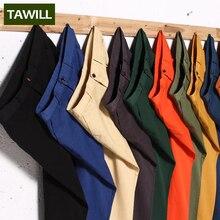 Tawill calças dos homens casuais de algodão 2016 novo 11 cores plus size 44 46 48 63051