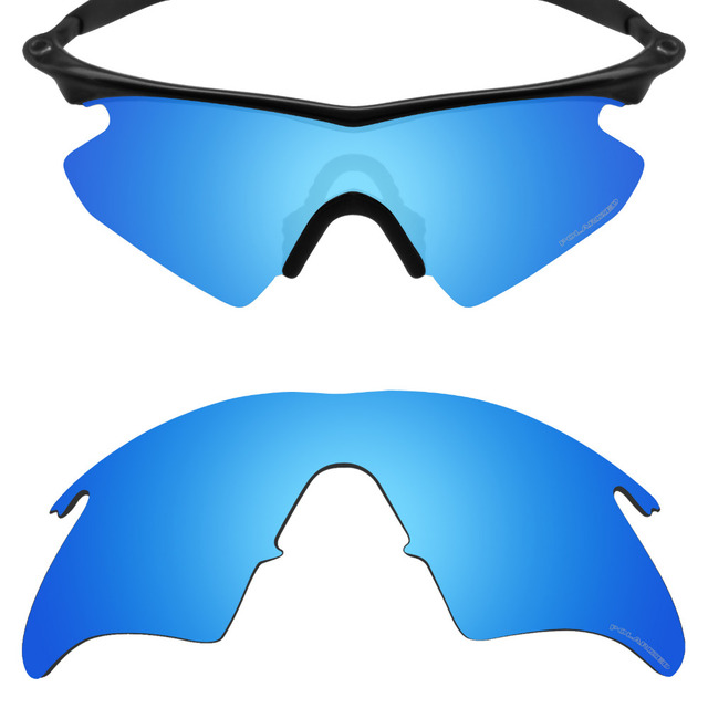 391c69c23d Mryok+ POLARIZED Resist SeaWater Replacement Lenses for Oakley M Frame  Heater Sunglasses Ice Blue