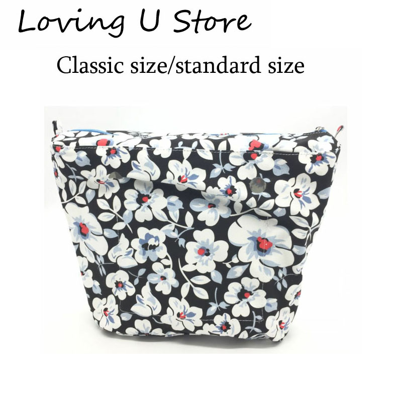 New Classic Size Solid waterproof Insert Inner Lining Insert Zipper Pocket for Obag O Bag handbag Silicone package accessories все цены