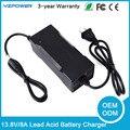 13.8 V 8A Bateria de Chumbo Ácido Carregador de Bateria Inteligente para 12 V Carro Com Ventilador de Refrigeração