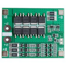 3 String 12V18650 Lithium Battery Protection Board 11.1V 12.6V With Equalization 25A Over-Current Over-Charge Protection(China)