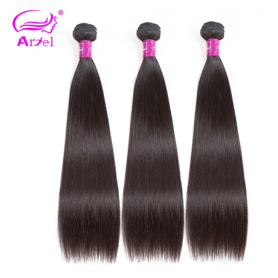 Волосы Ариэль, прямые волосы, пучки натуральных цветов, 100% человеческие волосы для наращивания, малазийские волосы, 8-26 дюймов, не Реми, бесплатная доставка