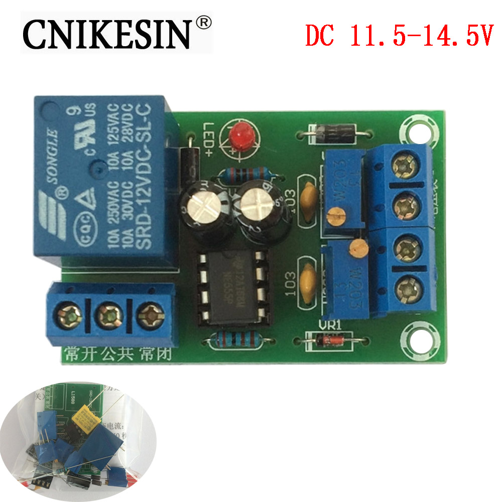 Cnikesin Diy Computer Power Amplifier Fan Temperature Control Panel Board 8x12cm Single Plate Spray Tin Universal Circuit Kits Automatic Protection 12v Battery Lithium Charging Advanced