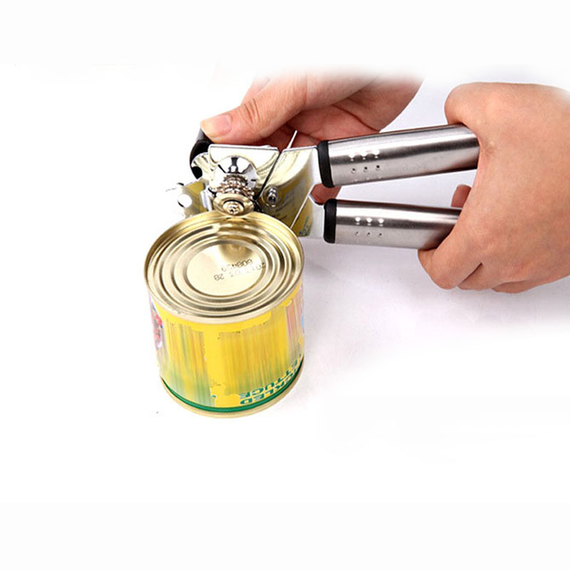 multifunctional stainless steel professional tin can opener kitchen craft easy grip opener for. Black Bedroom Furniture Sets. Home Design Ideas