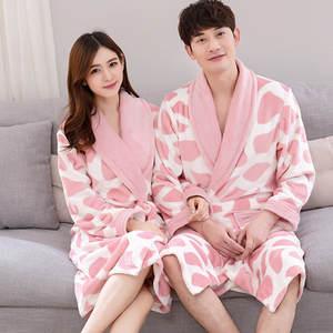 YZYOUTHZING Women Winter Kimono Gown Home Robe Warm cf73135b9