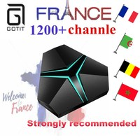 GOTiT 2017 Iron French IPTV Android TV Box Octa Core With 1 Year 1000 Arabic French
