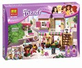 Nova BELA Série Amigo Mercado de Alimentos Da Cidade Blocos de Construção Amigos Presente Bricks Brinquedos Compatível Com legoe Amigos 41108