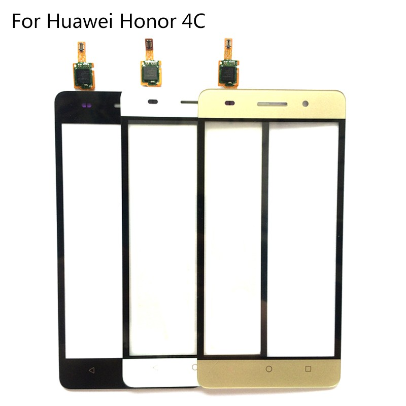100 Working New 4C Sensor Glass Panel Touch Screen Digitizer For Huawei Honor 4C Mobile Phone