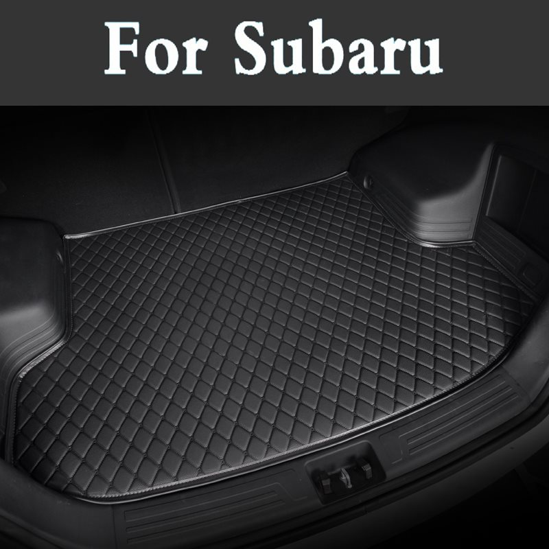 Car Sticker Cover Car Mat Rear Trunk Liner Carpet Covers Waterproof Pad Protector For Subaru Legacy Forester Tribeca Xv