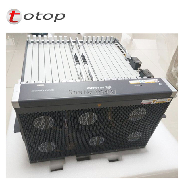 19 inch Huawei MA5800 X15 OLT with 2* MPLA Control and 2*PILA DC Power ,16 pots GPHF C+ board