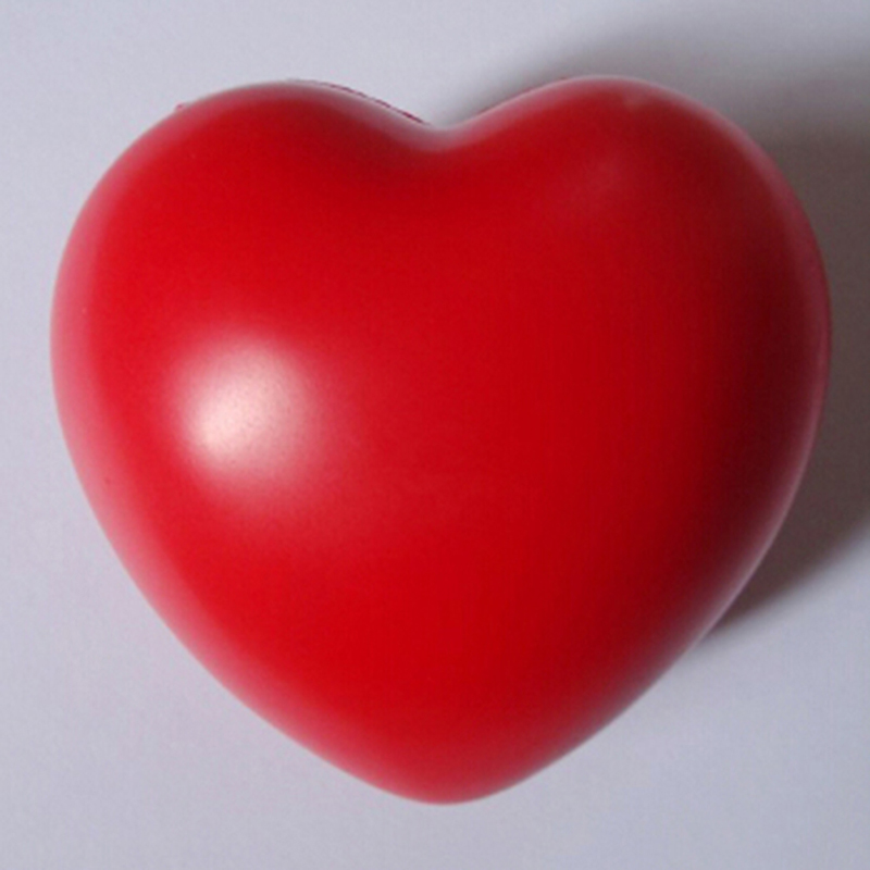 Anti-Stress Ball Toys Squeeze Relax Pressure-Relief Heart-Shaped Fun Gifts Funny 1pcs img1