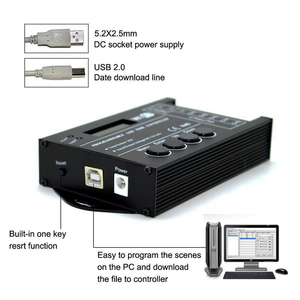 Image 3 - Светодиодный контроллер TC420 TC421 TC423, модернизированный, программируемый, Wi Fi, 12 В/24 В, 5 канальный выход для светодиодных лент, аквариумов