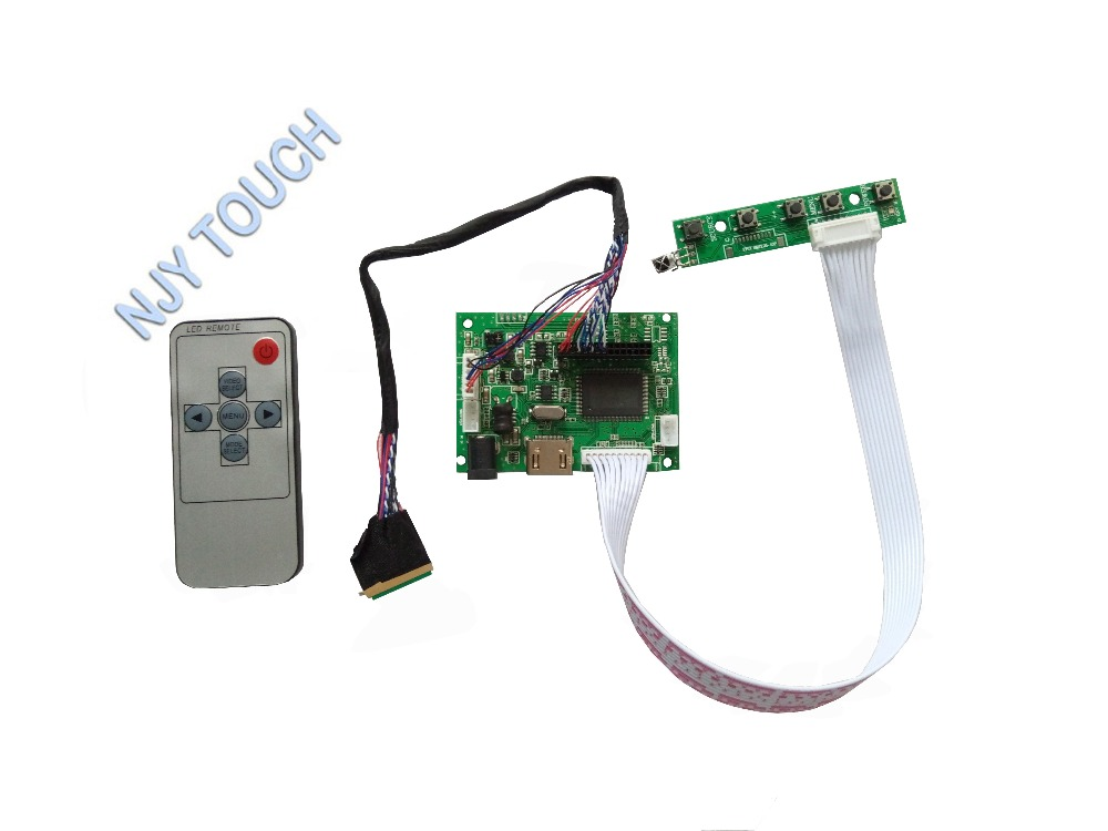 HDMI+DVI+VGA LCD led Controller Driver Board for Panel B156XTN02.2 1366×768