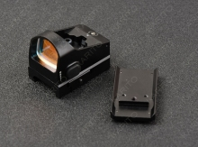 цены micro mini 1x red dot sight scope with glock pistol base and picatinny rail mount adapter shockproof R3245
