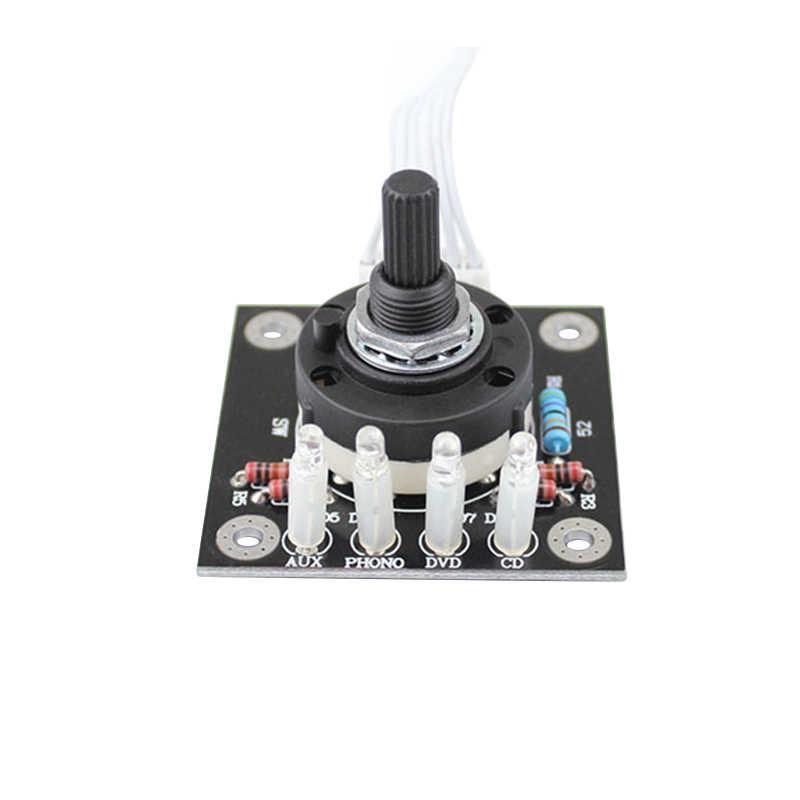 RCA аудио переключатель Вход выбор доска лотоса сиденье стерео реле 4-way усилитель Селекторное переключение усилитель аудио B7-002
