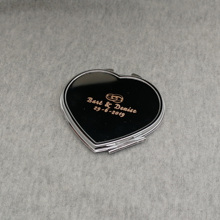 Unique personalized wedding favors with your name and date For guest NIce quality Pocket Mirror Portable 50pcs/lot