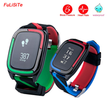 Bluetooth 4.0 фитнес-браслет Sleep Monitor Браслет android сердечного ритма крови Давление Водонепроницаемый IP68 сообщение толчок для Iphone