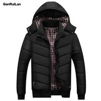 2018 New Winter Men's Jacket Coats Casual Parkas Slim Warm Thick Outerwear Hooded Overcoat Male Fashion Thermal Jackets JK18049
