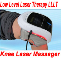 LLLT Low level laser therapy device knee pain relieve instrument knee Massager Therapeutic red light laser Vibration function CE