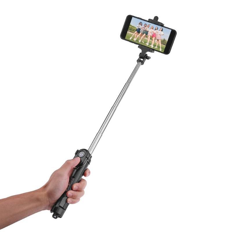 ALLOYSEED Handheld Extendable Tripod Monopod Camera Phone