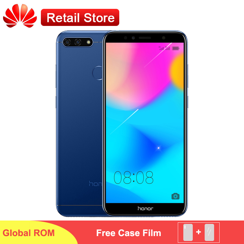 Global Firmware Honor 7A Phone 5 7 Fullview 1440 720 Snapdragon 430 Android 8 0 Dual