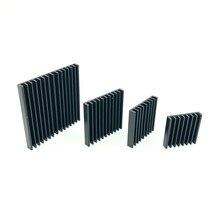 Dissipatore di calore In Alluminio 2.5/3/3.5/4/5 CENTIMETRI Ultra sottile di alluminio del radiatore per CPU Calore lavello Elettronica Ventola Di Raffreddamento del dispositivo di raffreddamento