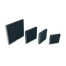 Kühlkörper Aluminium 2,5/3/3,5/4/5 CM Ultra dünne aluminium kühler für CPU Wärme waschbecken Elektronik Lüfter kühler