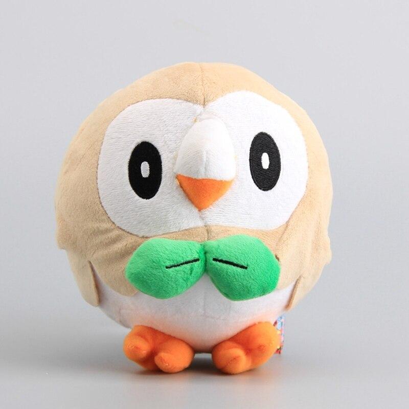 18Cm Pikachu Rowlet Stuffed Owl Plush Toy-In Stuffed -3614