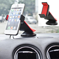 2016 Foldable And High Quality Car Mobile Phone Holder  For IPhone 6s plus For Samsung Galaxy S6  For ZTE 360 Degrees
