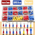Free Shipping 330pcs Assorted Full Insulated Fork U-type Set Terminals  Connectors Assortment Kit Electrical Crimp Spade Ring