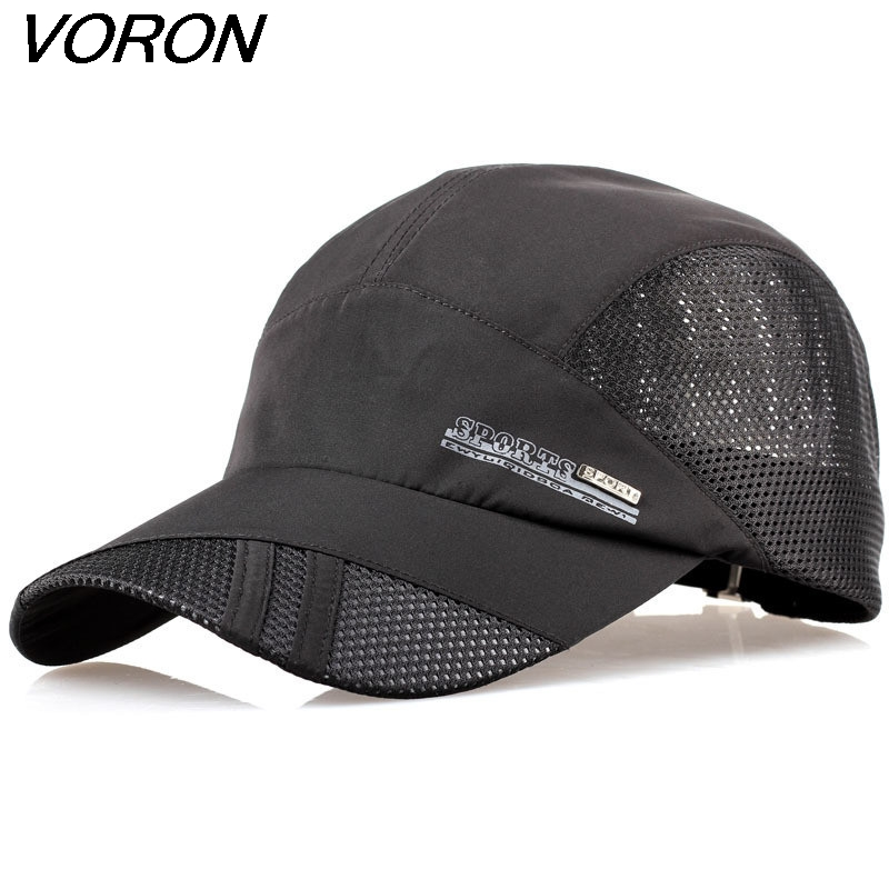 VORON 2017 summer quick-drying mesh hat breathable unisex outdoor sunshine sport climbing cap recovery baseball cap unisex illest letter hat gorros bonnets winter cap skulies beanie female hiphop knitted hat toucas outdoor wool men pom ball