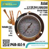 1 8MPa R404a, R22, R134a & R407c Refrigerant Pressure Gauges show low side  pressure & temperature in heat pump equipments