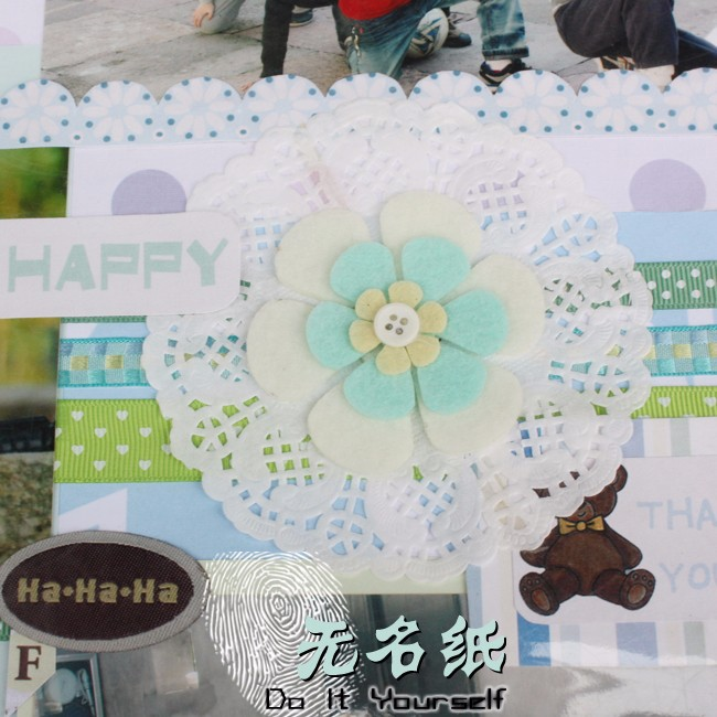 Round White Paper Lace Doilies Cake Wedding Decoration