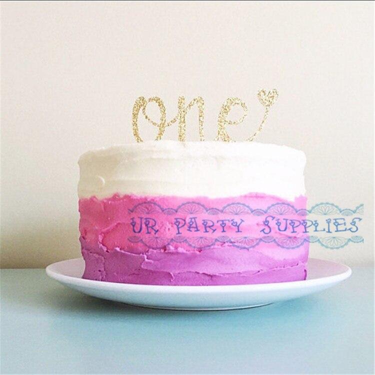 Aliexpresscom Buy One Cake Topper 1stFirst Birthday Cake Smash