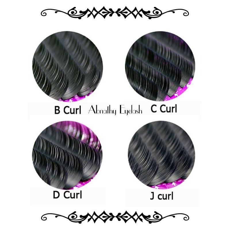 pestañas encantadoras J / B / C / DL pelo de visón sintético - Maquillaje - foto 6