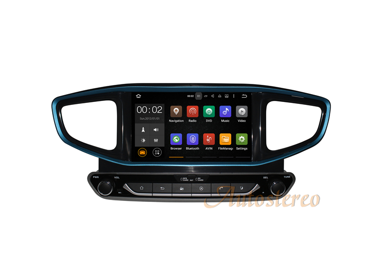 Android 8&7 Car CD DVD Player AutoStereo Unit GPS Navigation for HYUNDAI Ioniq/Ioniq Hybrid 2016 2017 Auto Multimedia Headunit недорго, оригинальная цена