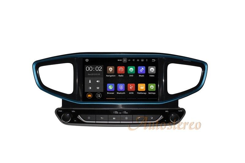 Android 8 e 7 Auto CD Lettore DVD AutoStereo Unità di Navigazione GPS per HYUNDAI Ioniq/Ioniq Hybrid 2016 2017 auto Multimedia Unità Principale
