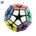 Shengshou 2x2x2 Megaminx Cube(PVC Sticker) Magic Cube Professional Puzzle Speed Cubes Educational Special Toys SS Cube
