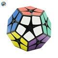 Shengshou 2x2x2 Megaminx Cubo (PVC Sticker) Profesional Cubo Mágico Puzzle Velocidad Cubos juguetes Educativos Especiales juguetes SS Cubo