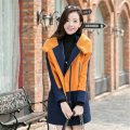 2016 Winter Autumn Women Woolen Coat Female Warm Wool Long Sleeve Overcoat Jacket Fashion A049