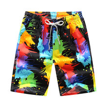 GEJIAN 2019 summer fashion new casual quick-drying men's beach pants surf shorts vacation swimshorts men short sport homme(China)