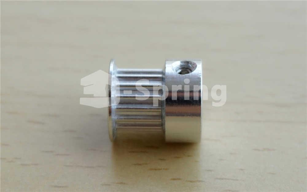 GT2 รอก 16 ฟัน 3.17mm 4mm 5mm 6mm 6.35mm Bore 6mm Width 16 T timing Belt Pulley ล้ออลูมิเนียมสำหรับ 3D เครื่องพิมพ์