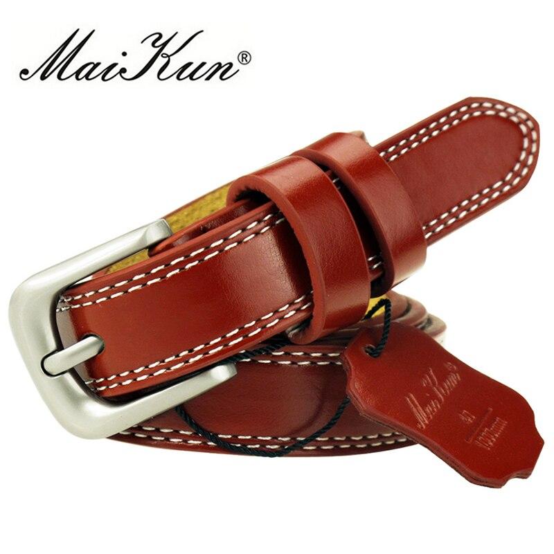 Cinturones De Cuero de Vaca de Alta Calidad para Las Mujeres Cummerbund Correa Femenina De Lujo Decorativo Simple Correa de Cintura Del Color Del Caramelo Envío de La Gota