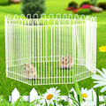 8Pcs Hamster Fence Small Animal Playpen Guinea Pig Hamster Mice Play Toy Exercise Portable Fences Gardon Play Pen Cage