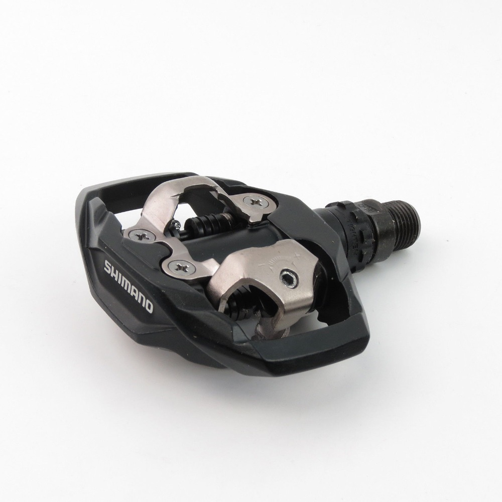 DEORE PD-M530 MTB Bicycle Bike SPD Clipless Pedals /& SM-SH51 Cleats