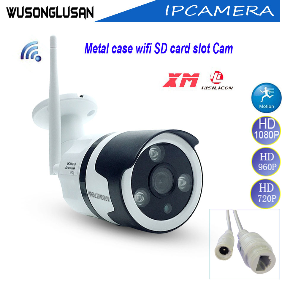 App iCsee XMeye SD Card Slot Wireless wifi IP Camera 2MP 1080P 960P 720P Motion detector Onvif Built in Microphone CCTV Camera gadinan hd 1080p 960p 720p wireless ip camera p2p rtsp motion detected waterproof wifi camera bullet with 64g sd card slot icsee