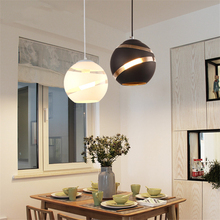 JAXLONG Nordic Pendant Lamps Vintage Restaurant Lights Led Dining Room Cafe Bedroom Hanging Lamp Decor Fixtures