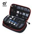 ECOSUSI Acessórios Digital Devices Gadget Organizer Cabo USB Carregador Portátil Tote Saco De Armazenamento Caso Sacos de Organizador de Viagens