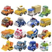 Робот автомобиль поли (без деформации) мусти Янтарный Рой Diecasts металлический сплав моделька автомобиля Робот автомобиль игрушки корейские игрушки для детей Подарки